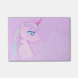 cute unicorn Post-It Notes