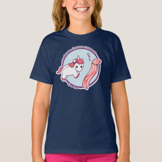 Cute Unicorn with Bacon T-Shirt