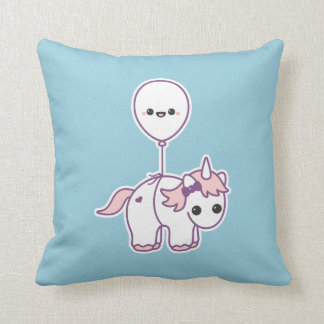 Cute Unicorn with Balloon Cushion