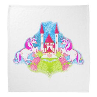 cute unicorns bandana