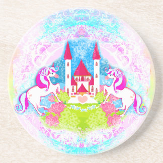 cute unicorns Coaster