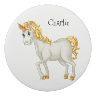Cute Unicorns custom name eraser
