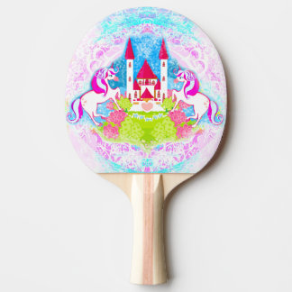 cute unicorns Ping Pong Paddle