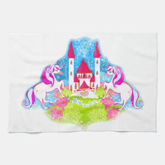 cute unicorns TeaTowels Tea Towel