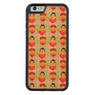 Cute Valentine Cupids Carved® Cherry iPhone 6 Bumper Case
