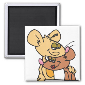 Cute Valentines Gifts Square Magnet