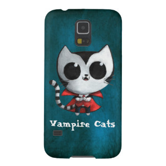 Cute Vampire Cat Galaxy S5 Case