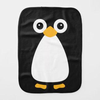 Cute Vector Penguin Burp Cloth