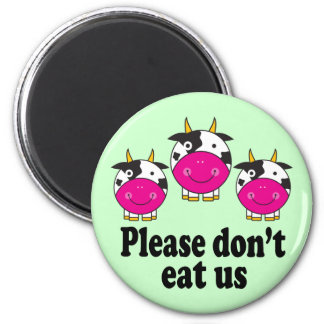 Cute Vegan Cows magnet