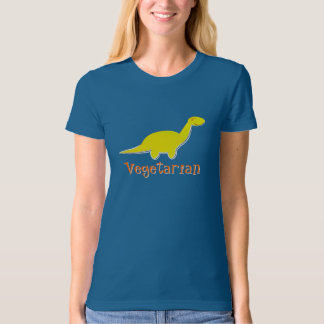 Cute Vegetarian Dinosaur T-Shirt