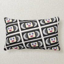 Cute VHS Video Tapes Lumbar Cushion