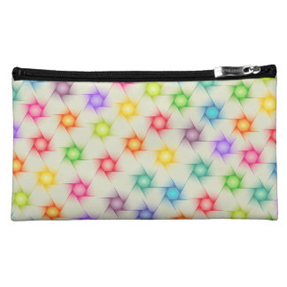 Cute Vibrant Color Pattern Cosmetic Bag