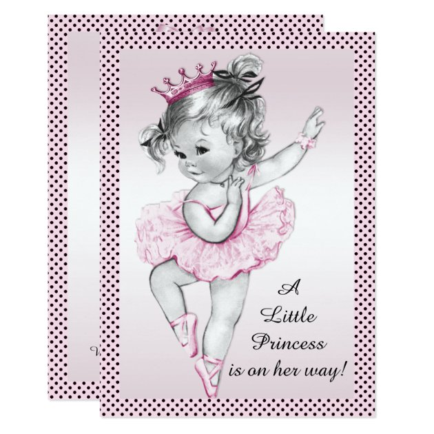 princess baby shower invitations & announcements   zazzle.co.uk, Baby shower invitations