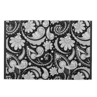 Cute vintage black white paisley patterns powis iPad air 2 case
