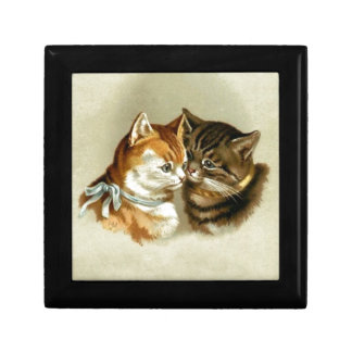 Cute Vintage Cats Gift Box