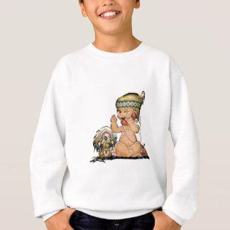 Cute Vintage Child on Telephone No3 Sweatshirt