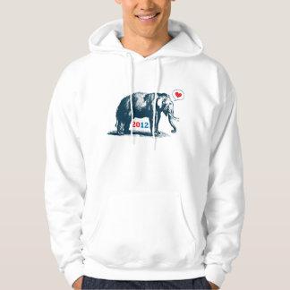 Cute Vintage GOP Republican Elephant Sweatshirt