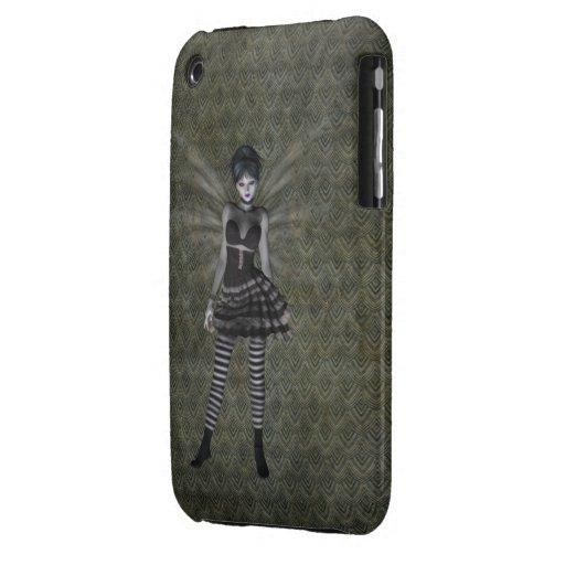 Cute Vintage Gothic Fairy Case-Mate iPhone 3 Cases
