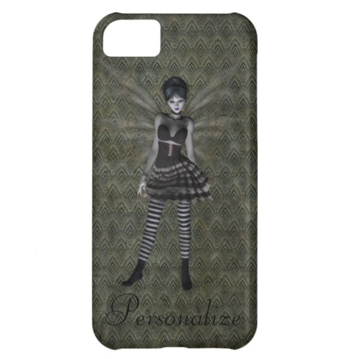 Cute Vintage Gothic Fairy Personalised Case For iPhone 5C