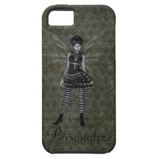 Cute Vintage Gothic Fairy Personalized Tough iPhone 5 Case