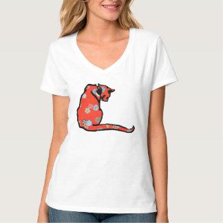 Cute vintage kitty shirt
