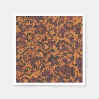 Cute vintage paisley seamless patterns design disposable serviette