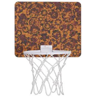 Cute vintage paisley seamless patterns design mini basketball hoop