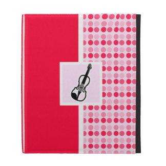 Cute Violin iPad Folio Case