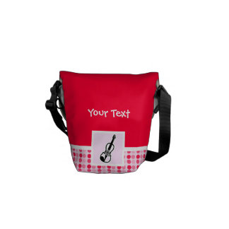 Cute Violin Courier Bags