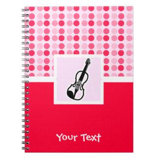 Cute Violin Note Book