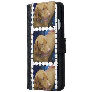 Cute Vizsla Dog iPhone 6 Wallet Case