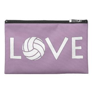 Cute Volleyball Love Handbag Travel Accessory Bag