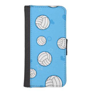 Cute Volleyball Pattern Blue