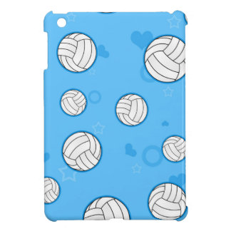 Cute Volleyball Pattern Blue Cover For The iPad Mini