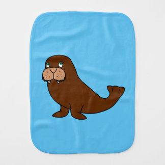 Cute Walrus Burp Cloth