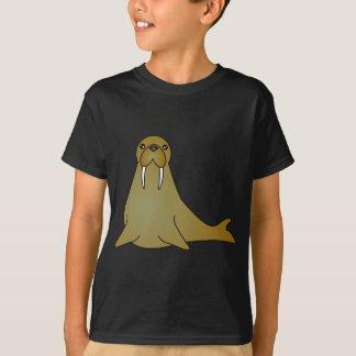 Cute Walrus Cartoon T-Shirt