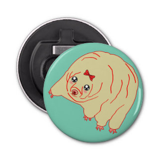 Cute Water Bear Tardigrade Anime Bottle Opener