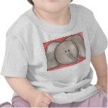 Cute Watercolor Cartoon Elephant Tee Shirt