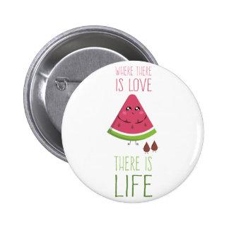 Cute Watermelon 6 Cm Round Badge