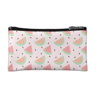 Cute Watermelon Pattern Cosmetics Bags