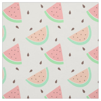 Cute Watermelon Pattern Fabric
