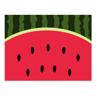 Cute Watermelon Postcard