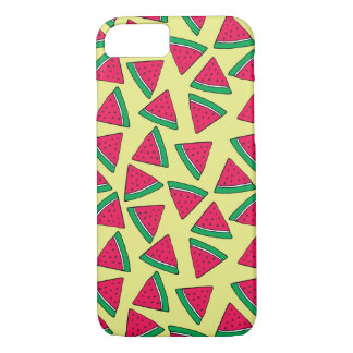 Cute Watermelon Slice Cartoon Pattern iPhone 8/7 Case