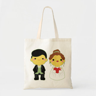 Cute Wedding Couple - 02 Tote Bag
