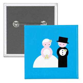Cute wedding couple pins