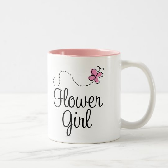 Cute Wedding Flower Girl Gift Mug