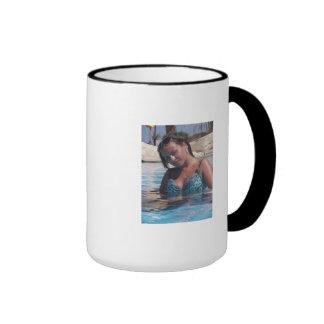 Cute, Wedding-Minded Pinup Ringer Mug