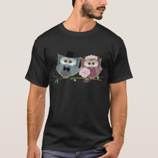 Cute Wedding Owls T-Shirt