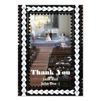 Cute Wedding Thank You Cards 13 Cm X 18 Cm Invitation Card