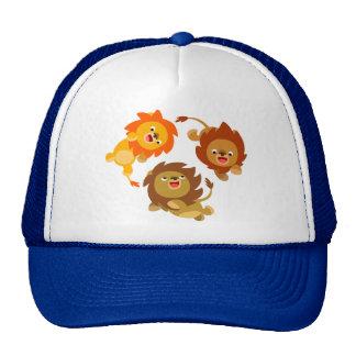 Cute Weightless Cartoon Lions Hat